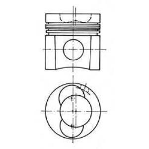 Комплект поршневых колец 94414600 kolbenschmidt -
