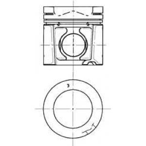 Поршень DEUTZ 108.0 BF4M1013/BF6M1013 (пр-во Mahle 94573600 kolbenschmidt -