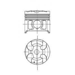 Поршень OM605/606 2,5TD/3,0TD 94820710 kolbenschmidt -