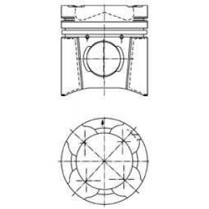 Комплект поршневых колец 94849600 kolbenschmidt -