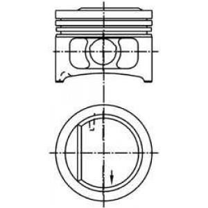 ������� 94916600 kolbenschmidt - FORD ORION III (GAL) ����� 1.6 i 16V