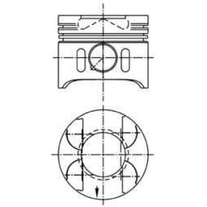 Поршень 97409600 kolbenschmidt - MERCEDES-BENZ E-CLASS (W210) седан E 200 CDI (210.007)