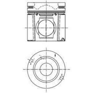 Поршень 99500600 kolbenschmidt - SCANIA 4 - series  124 L/420