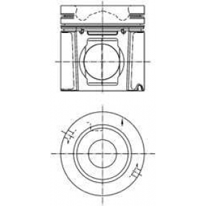 ������� 99500600 kolbenschmidt - SCANIA 4 - series  124 L/420