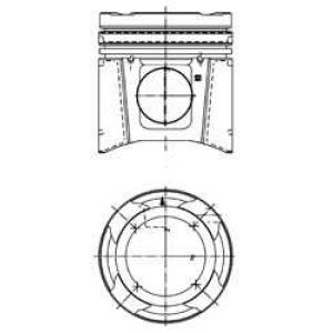 Комплект поршневых колец 99703600 kolbenschmidt -