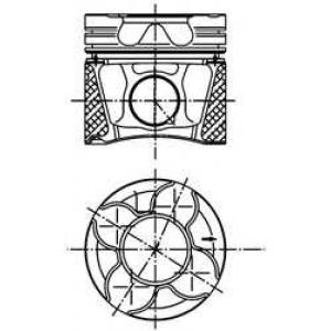 KOLBENSCHMIDT 99777630 АКЦІЯ!!! Поршень, комплект AUDI AFB/AKN 2,5 TDI V6 4-6 циліндр