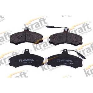 KRAFT AUTOMOTIVE 6003080 Комплект тормозных колодок, дисковый тормоз Фиат Таленто