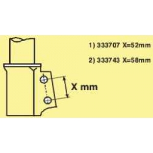 KYB 333743 Амортизатор подв. Renault Clio, Symbol передн. газов. Excel-G (без упаковки)(пр-во Kayaba)