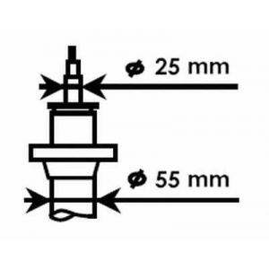 KYB 335808 Амортизатор подвески