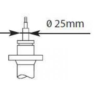 KAYABA 335827 Амортизатор передній