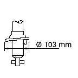 KYB 341186 Амортизатор KYB Nissan Almera N15 09.95-01.98 - R