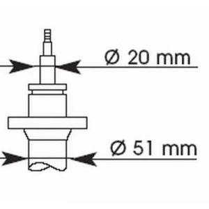KYB 364021 Амортизатор подв. BMW 316 E30, 316i E30 передн. газов. Excel-G (пр-во Kayaba)