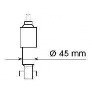 KAYABA 444102 Амортизатор передній