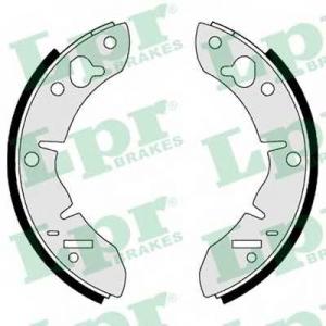 LPR 00560 Комплект тормозных колодок