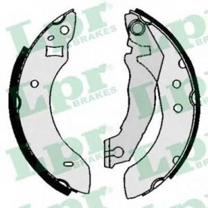 LPR 04600 Тормозные колодки барабанные