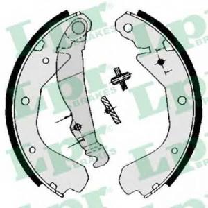 LPR 04640 Тормозные колодки барабанные