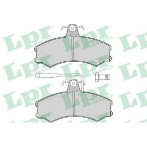 Комплект тормозных колодок, дисковый тормоз 05p012 lpr - FIAT DUCATO фургон (290) фургон 2.5 TD
