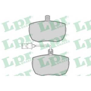 LPR 05P014 Тормозные колодки дисковые