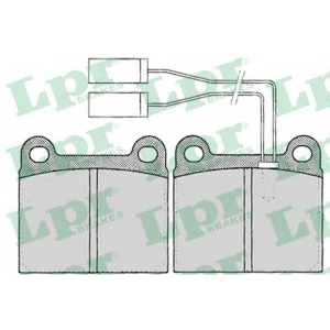 LPR 05P023 Brake Pad