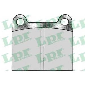 LPR 05P024 SF2115 Тормозные колодки