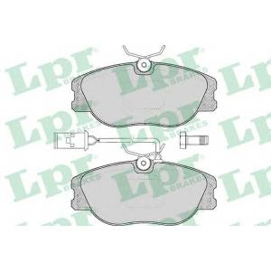 LPR 05P032 Комплект тормозных колодок, дисковый тормоз