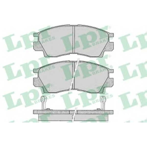 Комплект тормозных колодок, дисковый тормоз 05p042 lpr - MITSUBISHI SAPPORO III (E16A) купе 2.4 (E16A)