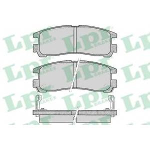 LPR 05P043 Тормозные колодки дисковые