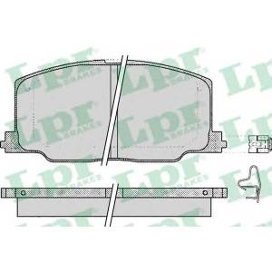 LPR 05P068 SF2557 Тормозные колодки