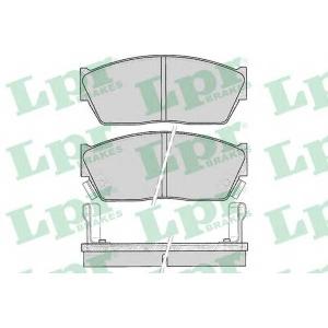Комплект тормозных колодок, дисковый тормоз 05p076 lpr - HONDA CIVIC III Hatchback (AL, AJ, AG, AH) Наклонная задняя часть 1.2 (AL)