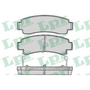 LPR 05P088 Гальмiвнi колодки дисковi
