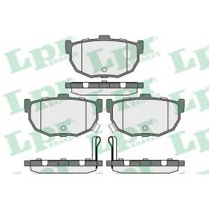 LPR 05P089 Тормозные колодки