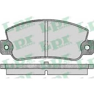 Комплект тормозных колодок, дисковый тормоз 05p095 lpr - FIAT CROMA (154) Наклонная задняя часть 2000 CHT (154.AC)