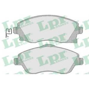 LPR 05P1004 Тормозные колодки дисковые