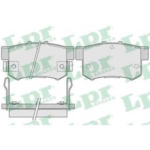 LPR 05P1014 Тормозные колодки дисковые