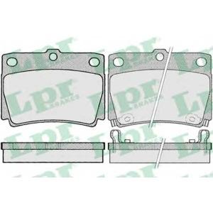 LPR 05P1029 Тормозные колодки дисковые
