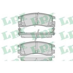 LPR 05P1031 Тормозные колодки дисковые