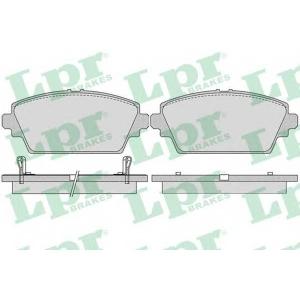 LPR 05P1036 Тормозные колодки дисковые