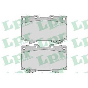 LPR 05P1050 Тормозные колодки дисковые