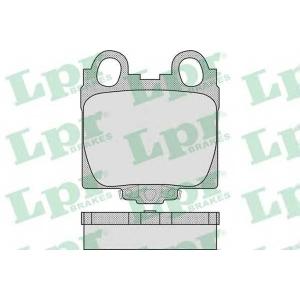 LPR 05P1051 Тормозные колодки