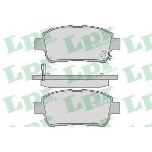 LPR 05P1062 Тормозные колодки дисковые