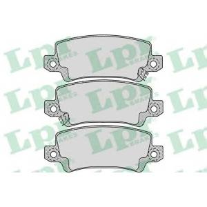 LPR 05P1068 Тормозные колодки дисковые