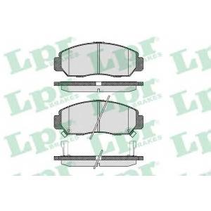 LPR 05P1071 Тормозные колодки дисковые