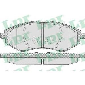 LPR 05P1080 Тормозные колодки AVEO