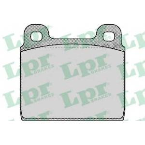 Комплект тормозных колодок, дисковый тормоз 05p109 lpr - MERCEDES-BENZ /8 (W114) седан 230.6 (114.015)