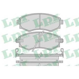 LPR 05P1097 Тормозные колодки дисковые