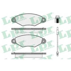 LPR 05P1106 Тормозные колодки