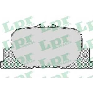 Комплект тормозных колодок, дисковый тормоз 05p1112 lpr - TOYOTA CAMRY (_CV2_, _XV2_) седан 2.2