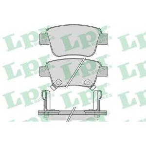 Комплект тормозных колодок, дисковый тормоз 05p1113 lpr - TOYOTA PREVIA III (ACR5_, GSR5_) вэн 3.5 4WD
