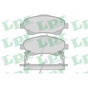 LPR 05P1114 Тормозные колодки
