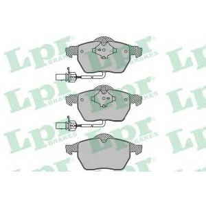 LPR 05P1119 Тормозные колодки